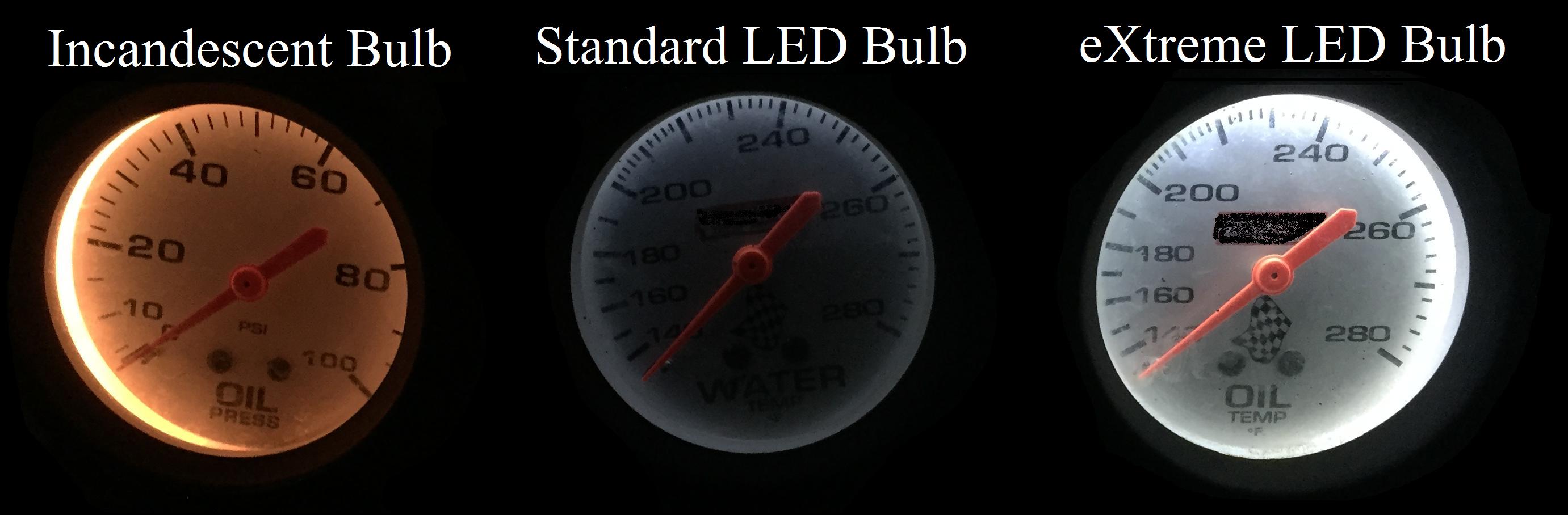 Extreme Led Gauge Bulb Led Foot Products